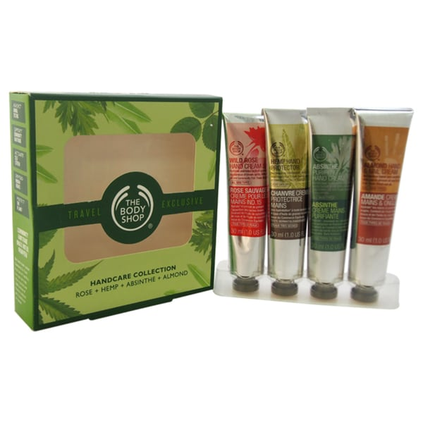 The Body Shop Hand Care Cream Collection 4-piece Kit