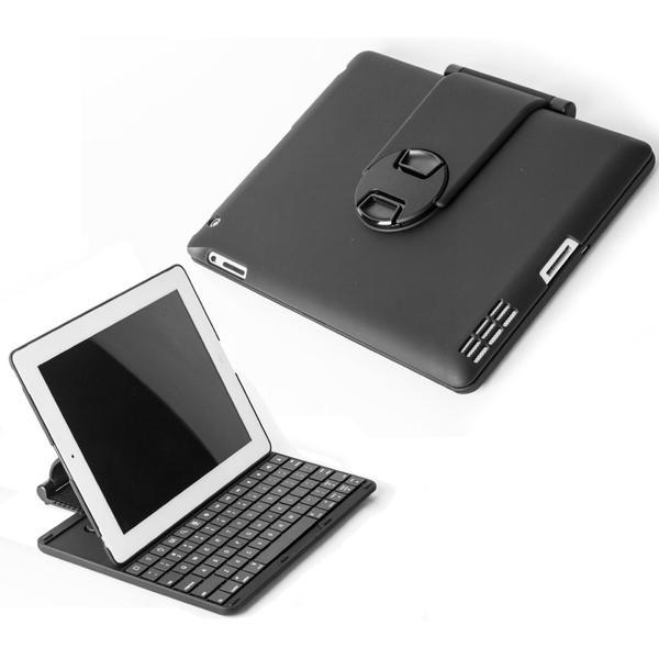 SHARKK Apple iPad Blutooth Keyboard for iPad 2, 3, 4, Air - Black
