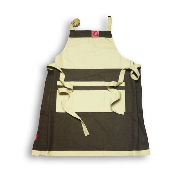 Auvillar Brown Apron