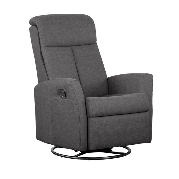 Charcoal Polyester Occasional Armchair