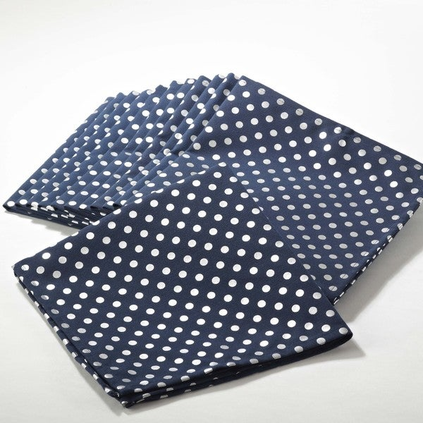 Silver Dot Napkin - set of 4 pcs