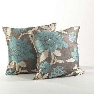 Floral Design Pillow (Set of 2)
