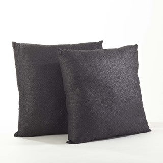 Crinkled Design Pillow (Set of 2)