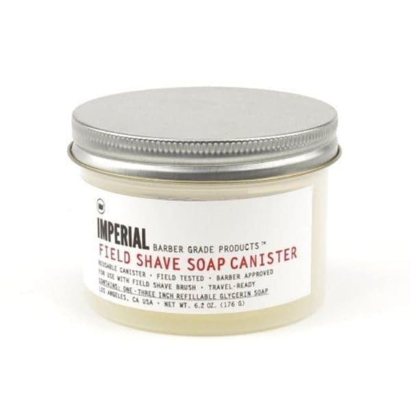 Imperial Barber Field Shave Soap Canister