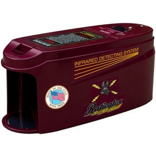 Raticator Rat Trap - No Mess Infrared Sensing Rodent Zapper - Humanely Exterminates Rats And Mice.
