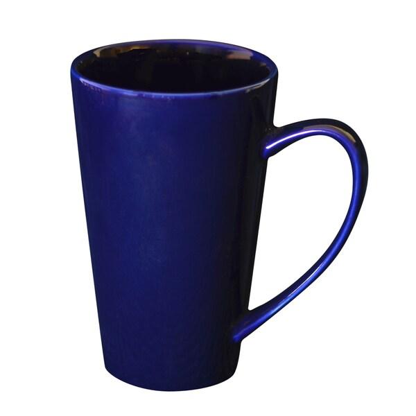 Oversized 24-ounce Plum Latte Mug (Set of 4)