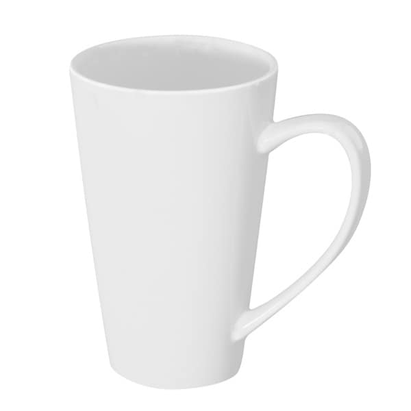 Oversized 24-ounce White Latte Mug (Set of 4)