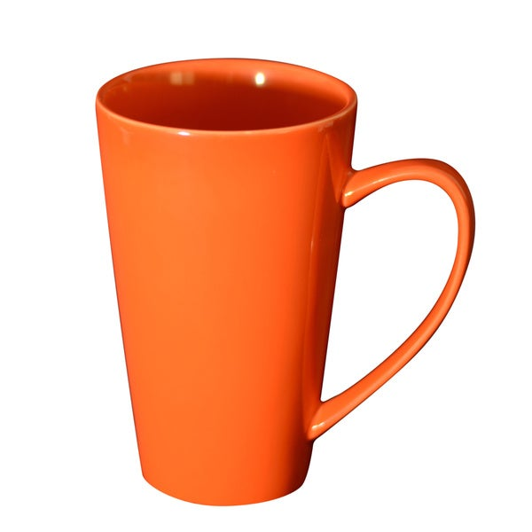 Oversized 24-ounce Orange Mug (Set of 4)