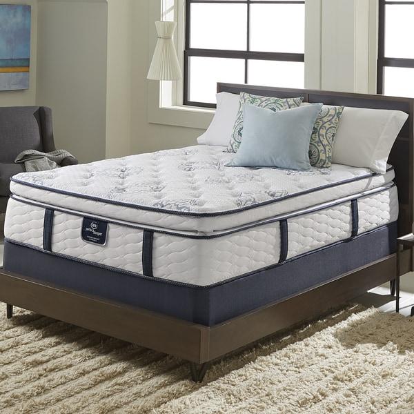 Serta Perfect Sleeper Elite Infuse Super Pillowtop Queen-size Mattress Set
