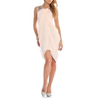 London Dress Company Women's Grecian Style Drape Dress