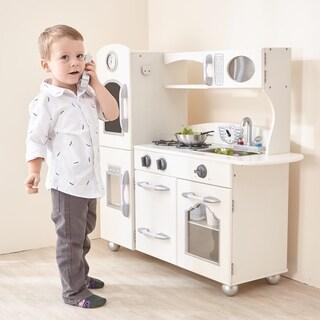 Teamson Kids White/ Pink Play Kitchen