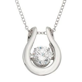 H Star Sterling Silver 1 1/2ct Diamagem Pendant