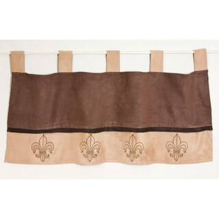 Pam Grace Creations Mocha Window Valance