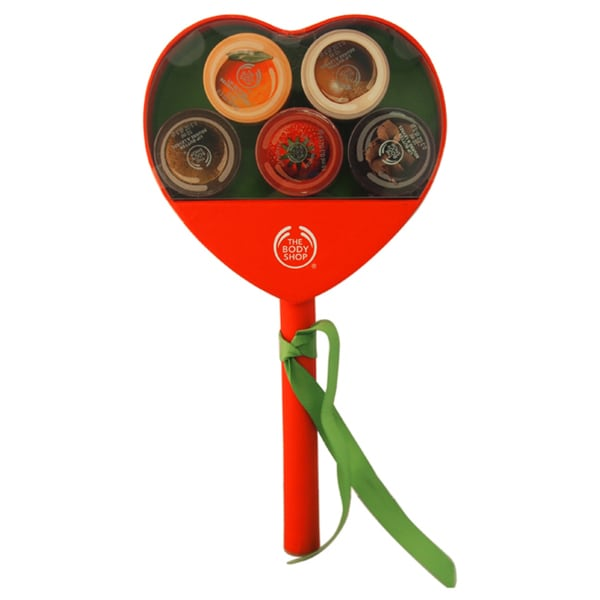 The Body Shop Lip Butter Lollipop Heart 5-piece Kit