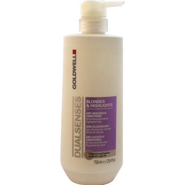 Goldwell Dualsenses Blondes & Highlights Anti-Brassiness 25.4-ounce Conditioner