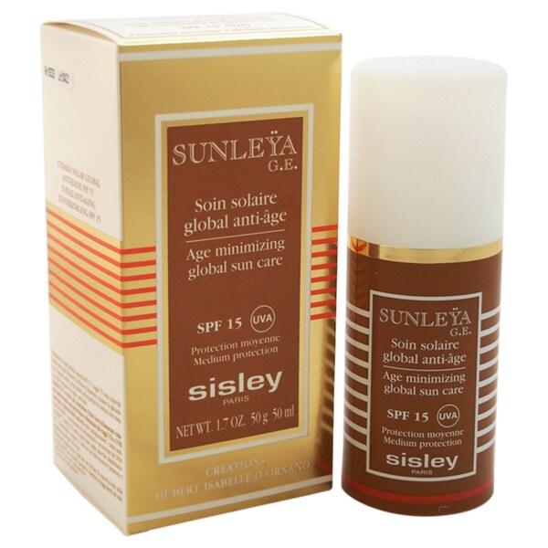Sisley Sunleya Age Minimizing Global Sun Care SPF 15 Medium Protection