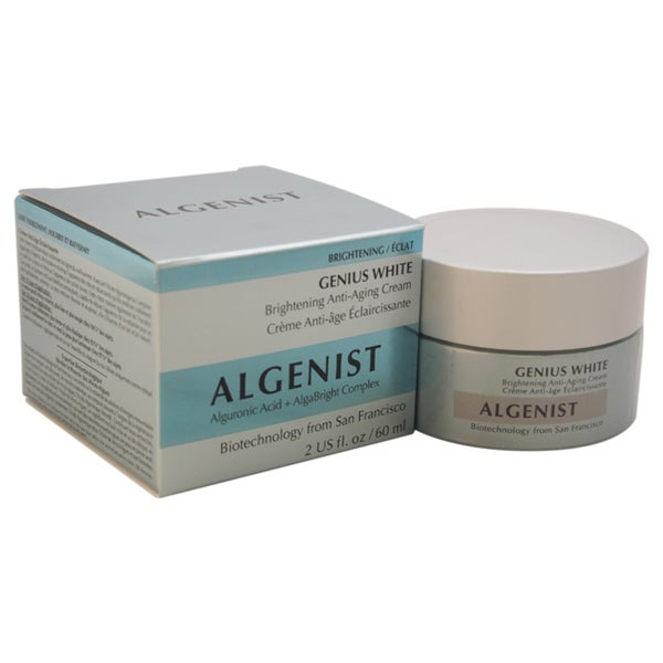 Algenist Genius White Brightening 2-ounce Anti-Aging Cream