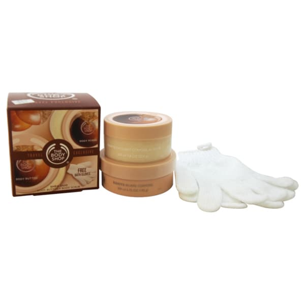 The Body Shop Shea Duo Travel Exclusive 3-piece Kit