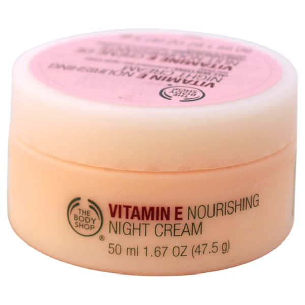 The Body Shop Vitamin E 1.63-ounce Nourishing Night Cream