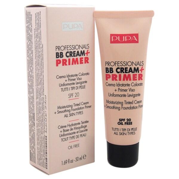 Pupa Milano SPF 20 Professionals BB Cream & Primer #001 Nude
