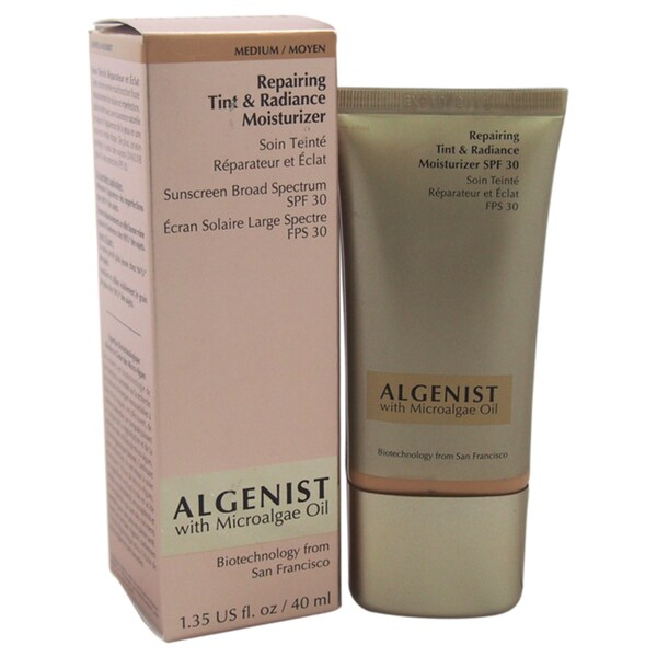 Algenist Repairing Tint & Radiance Moisturizer SPF 30 Medium