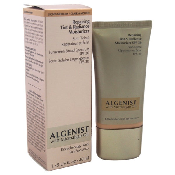 Algenist Repairing Tint & Radiance Moisturizer SPF 30 Light/Medium