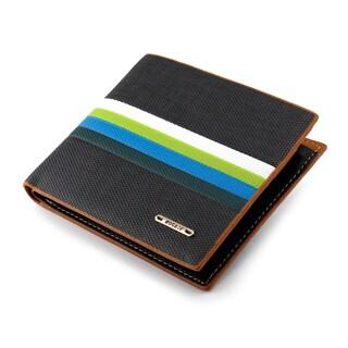 Gearonic New Fashion Stylish Men's Leather Slim Wallet Purse Clutch