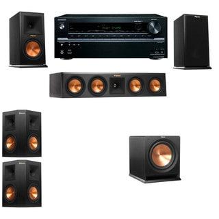Klipsch RP-160M-E Monitor Speaker 5.1 R112SW Onkyo TX-NR646