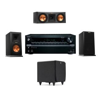 Klipsch RP-150M-E Monitor Speaker 3.1 SDS12 Onkyo TX-NR646