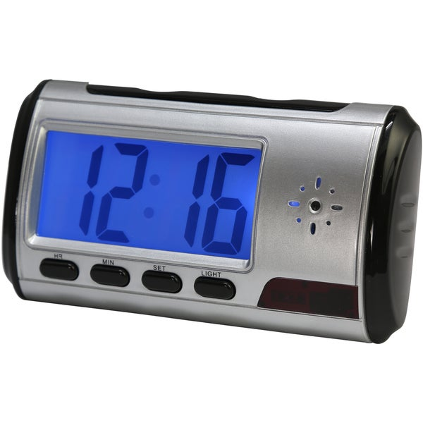 Utopia Multi Function Alarm Clock with Surveillance/ Sound Recording/ Cyber Chat
