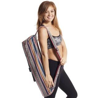 Multi-colored Yoga Mat Bag (Nepal)