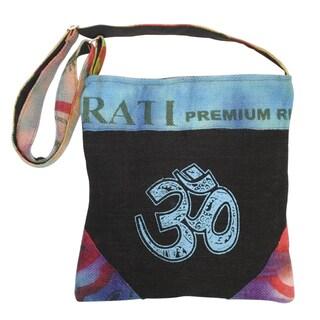 Hemp Jute Blend Om Colorblend Bag (Nepal)