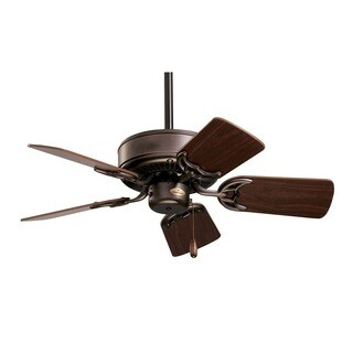 Emerson Northwind 29-inch Oil Rubbed Bronze Small Traditional Ceiling Fan with Reversible Blades