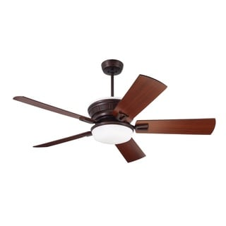 Emerson Portland Eco 54-inch Venetian Bronze Transitional Ceiling Fan with Reversible Blades