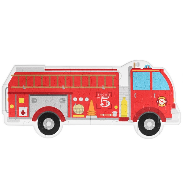 Fire Engine 24-piece Jumbo Floor Puzzle