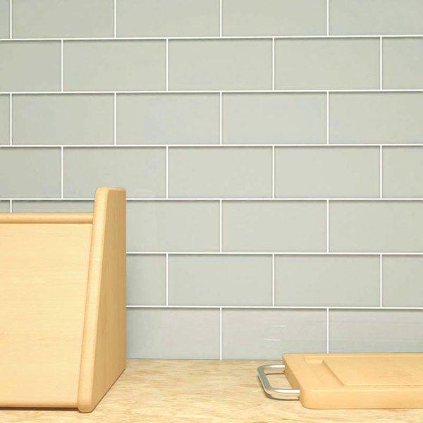 Light Gray Subway 5.5 Square Foot Tiles (44 Pieces Per
