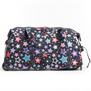 CalPak 'Madison' Million Stars 21-inch Carry On Rolling Duffel Bag