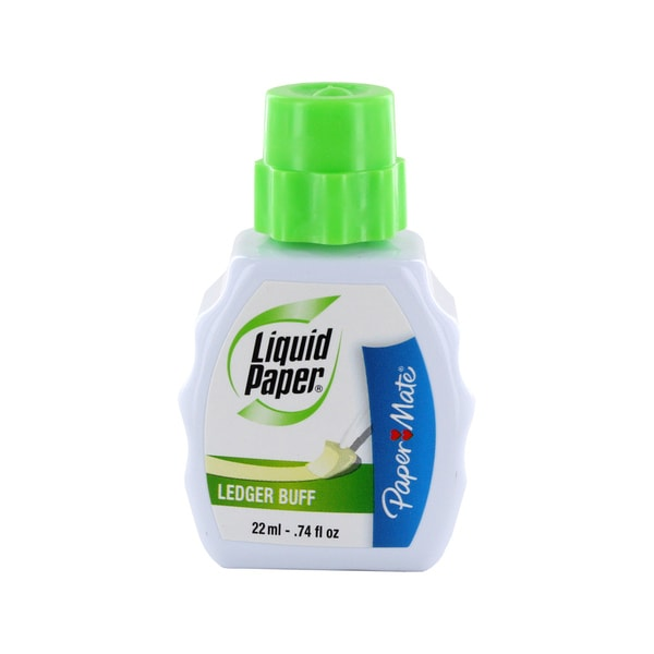 Paper Mate 22ml Ledger Buff Correction Fluid