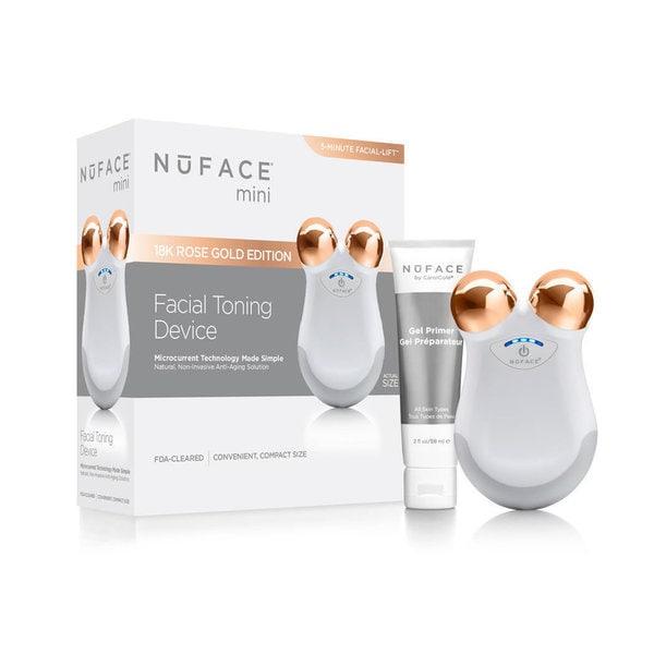 NuFACE Mini White Rose Facial Toning Device