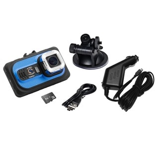 Top Dawg EagleEye 1080P DVR Dash Camera with G-Sensor and 8 GB SD