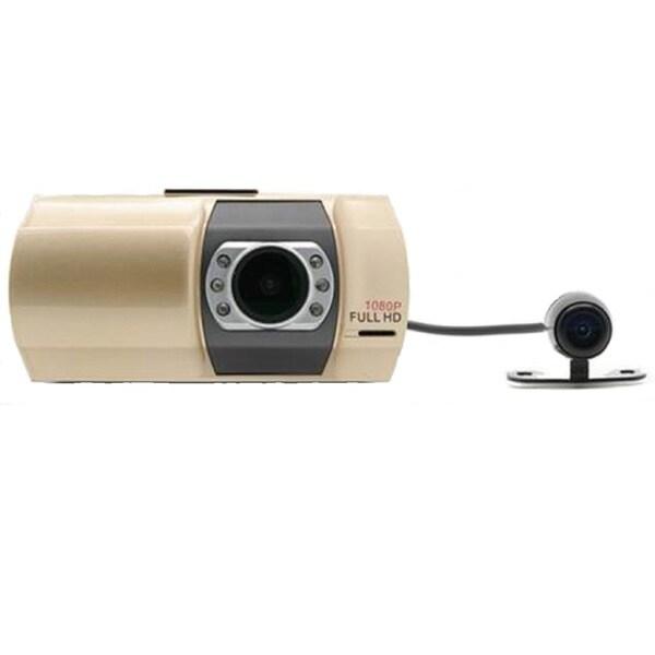 Top Dawg 1080P Dual DVR Dash Cam