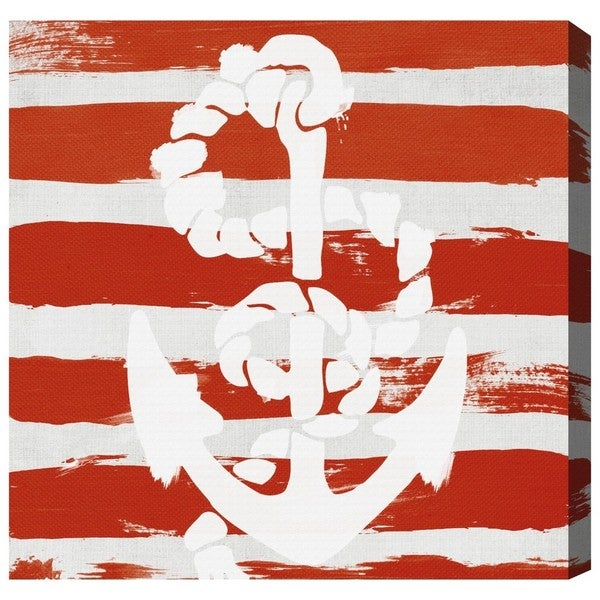 Blakely Home 'Anchored to the Ocean' Canvas Art