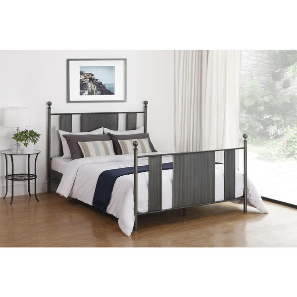 DHP Grey Athena Queen Bed