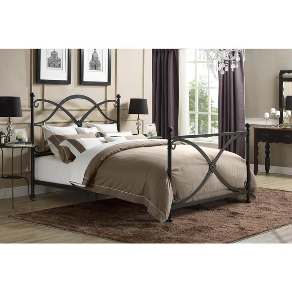 DHP Premium Skylar Queen Metal Bed