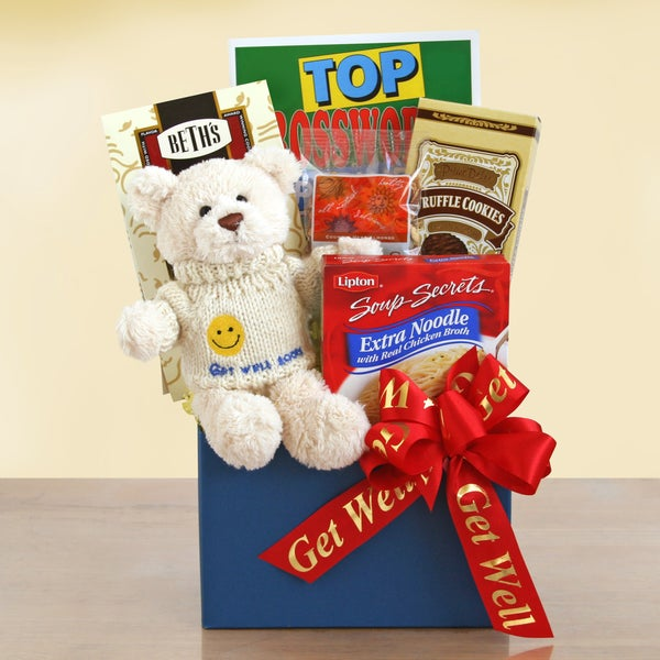 Get Well Bear Gift Box