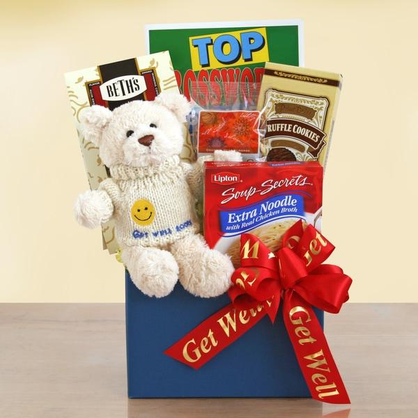 Get Well Bear Gift Box