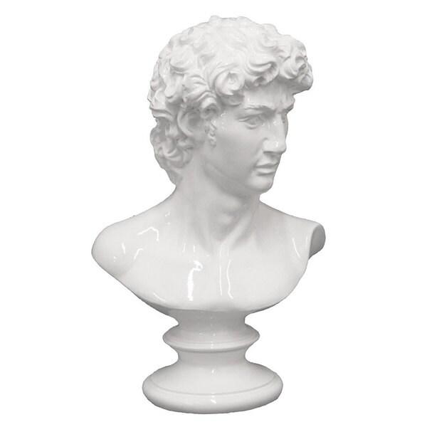 White Resin Figurine