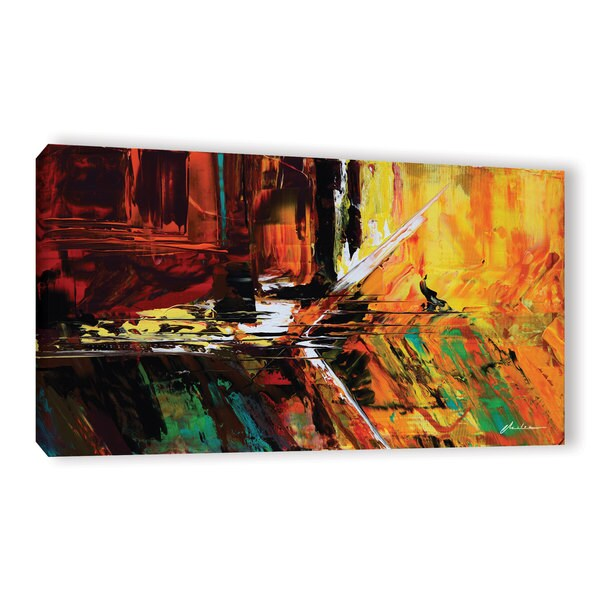 ArtWall Milen Tod 'Glitch' Gallery-wrapped Canvas