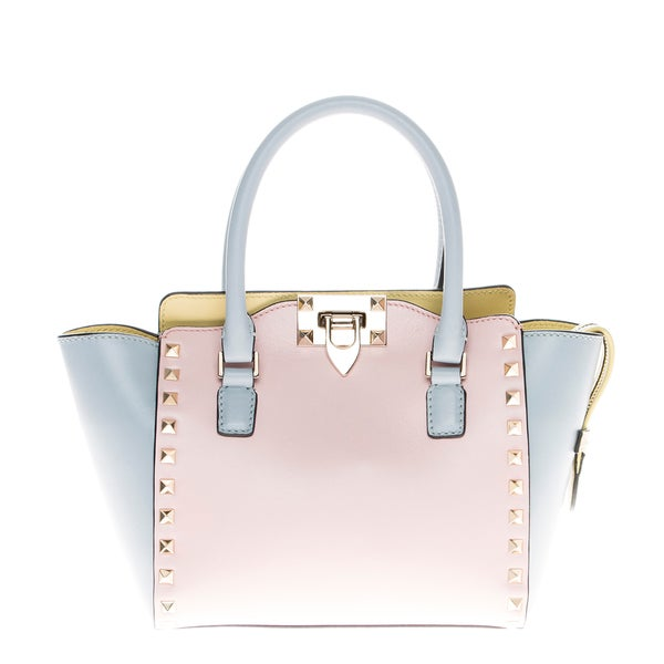 Valentino Rockstud Watercolor Tote (As Is Item)