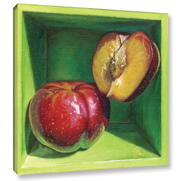 ArtWall Paige Wallis 'Sweet Cheeks' Gallery-wrapped Canvas